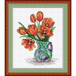 """""""Весенние тюльпаны"""" """"М.П.Студия"""" М-089 - фото 78484"""