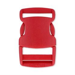 Пряжка-фастекс красный 32 мм  1шт. - фото 79253