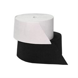 Лента эластичная 80 мм черная 1м - фото 87650