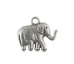 "Подвеска  ""Слон""  античное серебро - фото 88051"