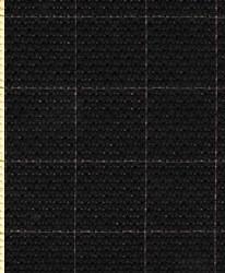 Канва Aida 14 черная с разметкой 50*50 см  1 шт - фото 90060