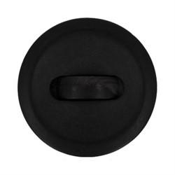 Пуговицы пальтовые/шубные 34 мм  черные 1 шт - фото 93120