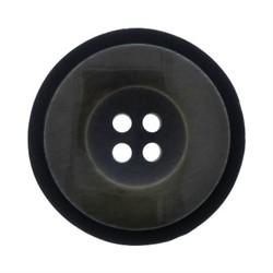 Пуговицы пальтовые/шубные 28 мм темный хаки 1 шт - фото 93479