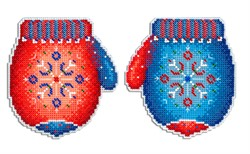 """""""Морозная рукавичка"""" 10 х 11 см """"М. П. Студия"""" - фото 95702"""