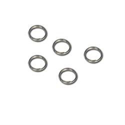Кольцо для бус 3.5 мм никель  (уп. 50 шт) - фото 97774