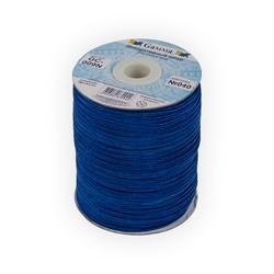Сутаж  декоративный 2.5 мм  цвет: синий 1 м   - фото 99346