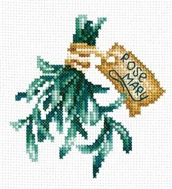 """Набор для вышивания """"Пряные травы. Розмарин""""  9х14 см  """"Сделай Своими Руками"""" - фото 99681"""