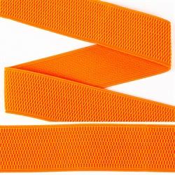 Резинка помочная 40 мм цвет 157 оранжевый 1 м