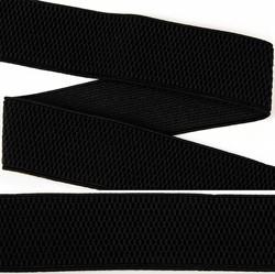 Резинка помочная 40 мм цвет 322 черный 1 м