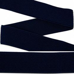 Резинка помочная 40 мм цвет 330 темно-синий 1 м