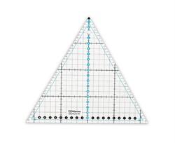 """Линейка для пэчворка 20x23 см """"треугольник 60°""""  1 шт"""