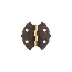 Петля для шкатулок цвет бронза 2,8 x 3 см  1 шт