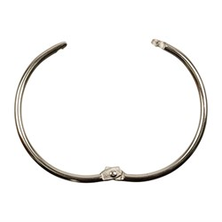 Разъемное кольцо 30 мм под серебро 1 шт