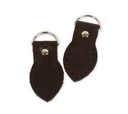 Петли для сумки  коричневые (нат. кожа) 2 шт.