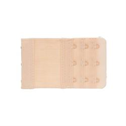 Удлинитель для бюстгальтера 55 мм  кремово-бежевый 1 шт.