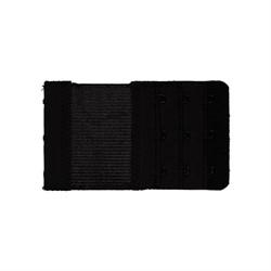 Удлинитель для бюстгальтера 55 мм  черный 1 шт.
