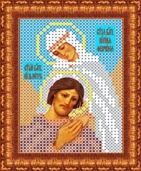 """Основа для вышивки бисером """"Св. Петр и Февронья"""" 7 х 9,5 см  """"Каролинка"""""""