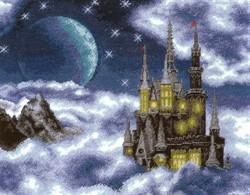 Набор для вышивания 'Лунный замок' 31*40 см  'РС-Студия'