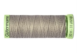 Нить Top Stitch отделочная, 30 м, 100% п/э,  цвет: 132 болотно-песочный, 1 кат.