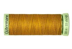 Нить Top Stitch отделочная, 30 м, 100% п/э, цвет: 412 охра, 1 кат.