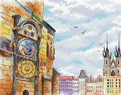 """Набор для вышивания """"История Чехии""""  22 х 18 см"""