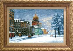 Набор для вышивания 'Исаакий. Санкт-Петербург' 32*51 см  'РС-Студия'