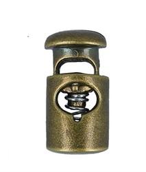 Фиксатор для шнура пластиковый цвет под бронзу 1 шт