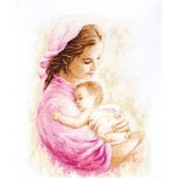 """Набор для вышивания """"Мать и дитя"""" 21*27см """"Luca-S"""""""