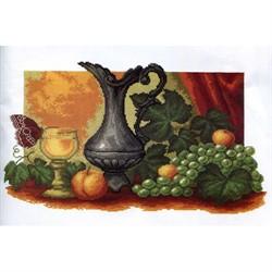 Набор для вышивания 'Натюрморт с виноградом' 45*55 см  'РС-Студия'