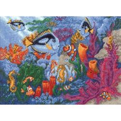 """Набор для вышивания 'Коралловый риф' 23*31 см  """"РС-Студия"""""""