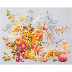 """Набор для вышивания 'Осенняя импровизация '32*25 см  """"Чудесная игла"""""""