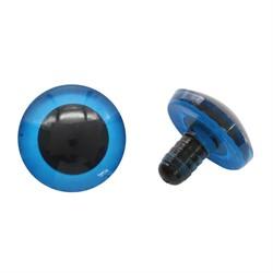 Глаза для игрушек 25 мм черные 1 пара