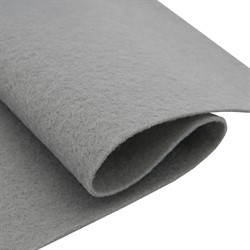 Фетр мягкий листовой Астра, 2 мм, 260 гр, 20х30 см светло-серый 1 лист