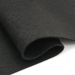 Фетр мягкий листовой Астра, 2 мм, 260 гр, 20х30 см черный 1 лист