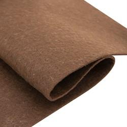 Фетр мягкий листовой Астра, 2 мм, 260 гр, 20х30 см коричневый 1 лист