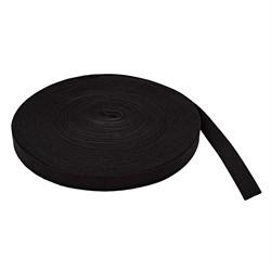 Лента эластичная башмачная 20 мм черная 1 м
