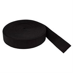 Лента эластичная башмачная 50 мм черная 1 м