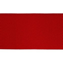 Лента эластичная 60 мм красная  1м