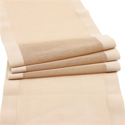 Ткань эластичная бельевая 15 см цвет: бежевый 1 м