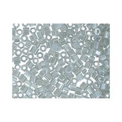 "Бисер ""TOHO"" 11/0 HEXAGON 2,2 мм 0150 серый/перл  5 г."