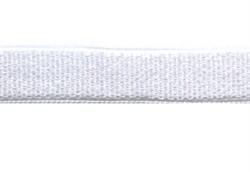 Лента эластичная для бретелей 6 мм белая 1м