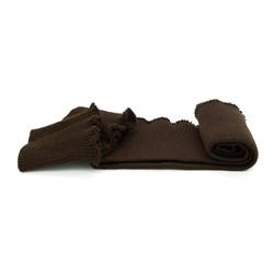 Комплект: подвяз 42*10 см + 2 манжета 8,5*10 см цвет: коричневый