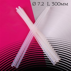 Клей для  клеевого пистолета Maxwell Glue 7*300 мм прозрачный 1 шт