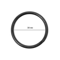 Кольцо металлическое  30х3 мм цв. оксид 1 шт.