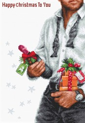 """Набор для вышивания """"Счастливое Рождество"""" 19х28,5 см"""