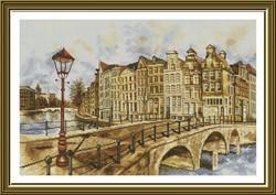 """Набор для вышивания  """"Амстердам"""" 42х28 см"""