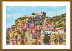"""Набор для вышивания  """"Воспоминание об Альгамбре"""" 42,8х28,3 см"""