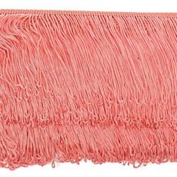 Бахрома шелковая 10 см цвет 170 коралловый 1 м