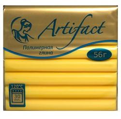 """Полимерная глина """"Артефакт"""" цвет лимонный 56 г  1 уп."""