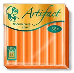 """Полимерная глина """"Артефакт"""" цвет апельсиновый 56 г  1 уп."""